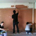 変化する卓球センター【珪藻土塗り】