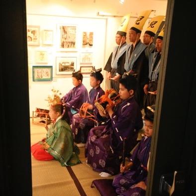 今年も博多松囃子・稚児舞をご披露いただきました!