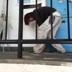冷泉荘の階段・共用部 防水塗装工事を行いました