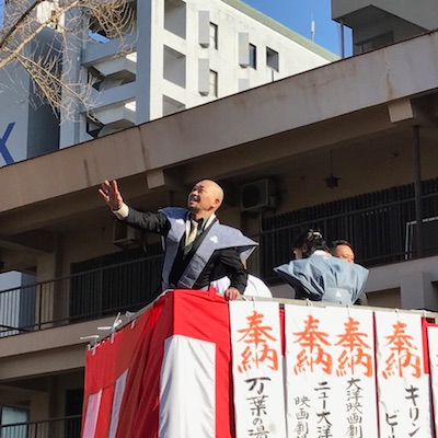 毎年すてきな櫛田神社の節分大祭