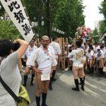 博多祇園山笠2019!今年はなんと、食道よこちょうの大将・白川さんが追い山ならしの櫛田入り、表側の台上がり!